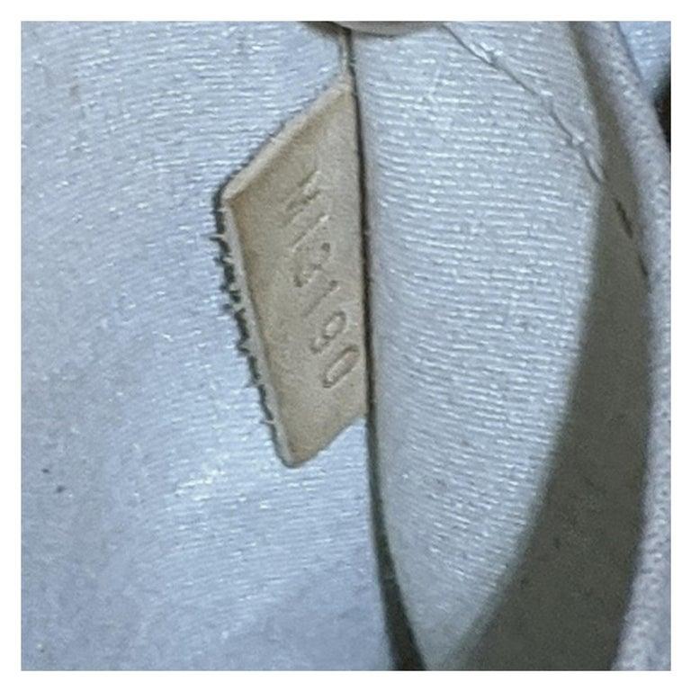 Louis Vuitton Dune Monogram Vernis Alma GM Handbag Satchel For Sale 2