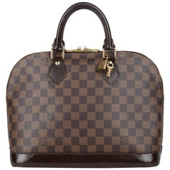Louis Vuitton Ebene Alma PM Bag