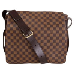 LOUIS VUITTON Ebene brown DAMIER CANVAS BASTILLE Messenger Bag