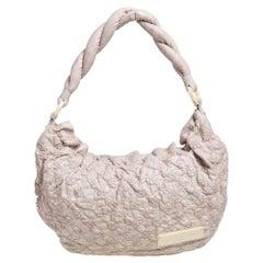 Louis Vuitton Ecru Monogram Leather Limited Edition Olympe Nimbus GM Bag