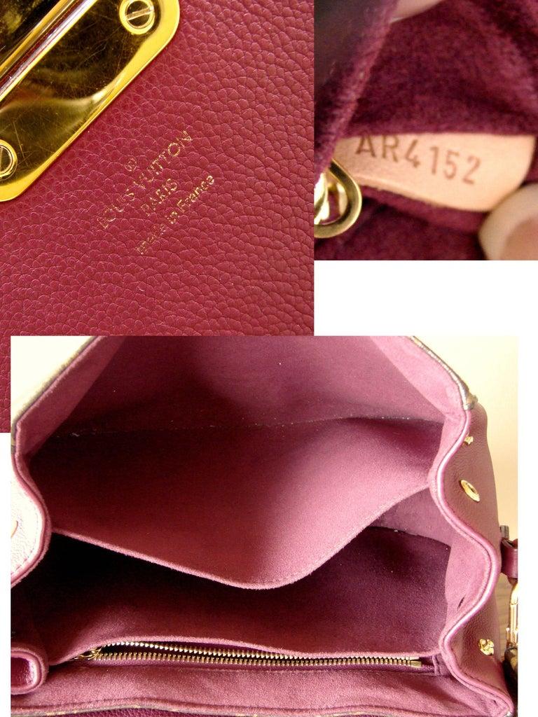Louis Vuitton Eden MM Monogram Aurore Bag Purse + Shoulder Strap + Dust Cover For Sale 11