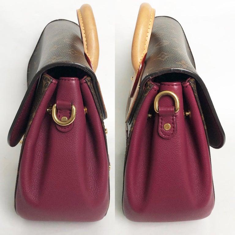Louis Vuitton Eden MM Monogram Aurore Bag Purse + Shoulder Strap + Dust Cover For Sale 2