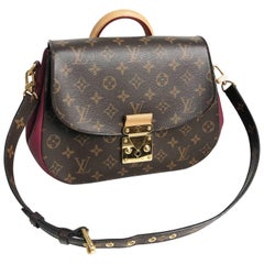 Louis Vuitton Eden MM Monogram Aurore Bag Purse + Shoulder Strap + Dust Cover