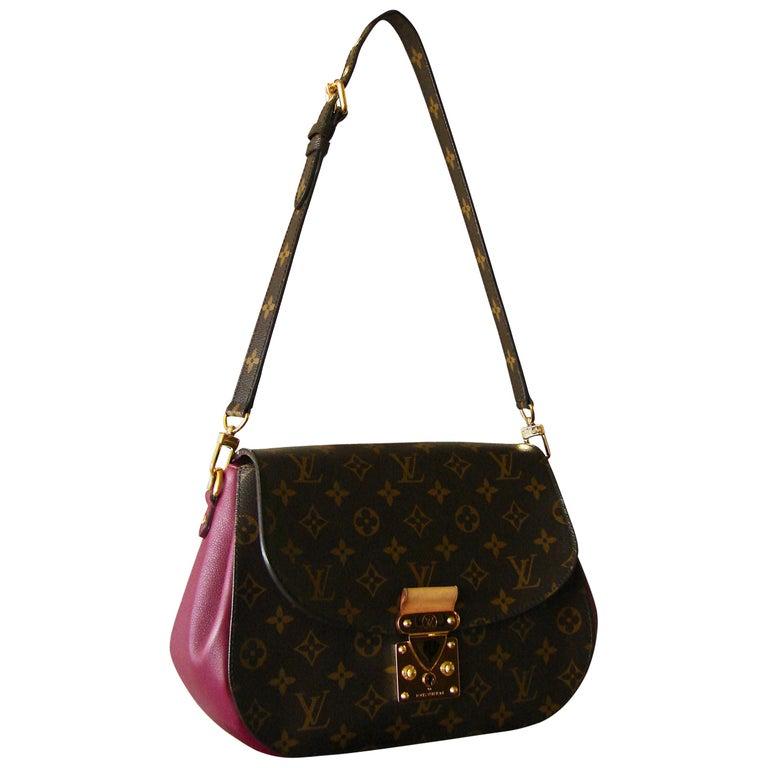 Louis Vuitton Eden Mm Monogram Aurore Bag Purse Shoulder Strap Dust Cover For Sale At 1stdibs
