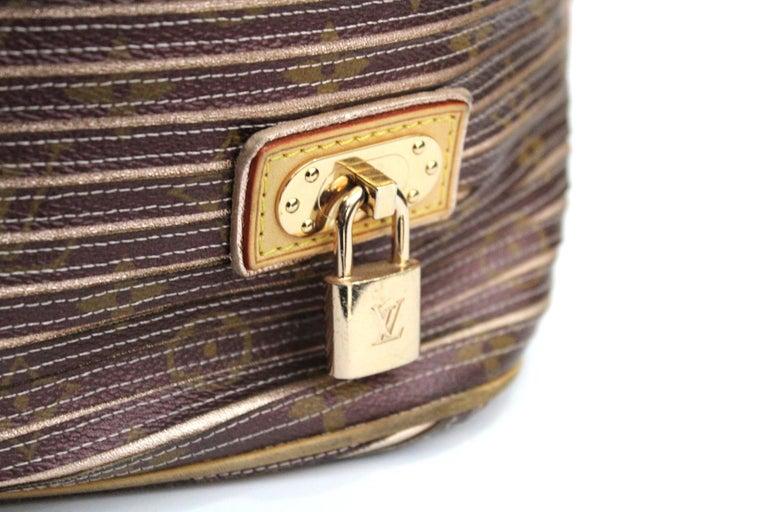Brown Louis Vuitton Eden Neo Peche Monogram Limited Edition Bag For Sale