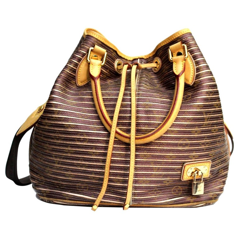 Louis Vuitton Eden Neo Peche Monogram Limited Edition Bag For Sale
