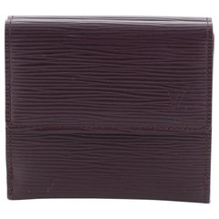 Louis Vuitton Elise Wallet Epi Leather