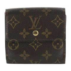 Louis Vuitton Elise Wallet Monogram Canvas