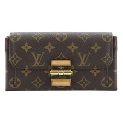 Louis Vuitton Elysee Wallet Monogram Canvas And Leather