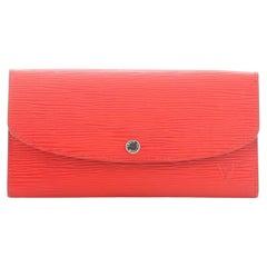 Louis Vuitton Emilie Wallet Epi Leather