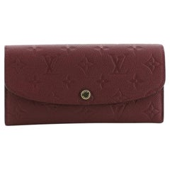 Louis Vuitton Emilie Wallet Monogram Empreinte Leather