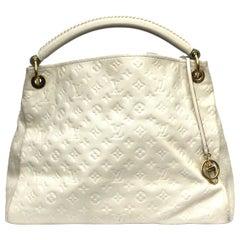 Louis Vuitton Empreinte White Leather