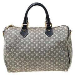 Louis Vuitton Encre Monogram Idylle Speedy Bandouliere 30 Bag