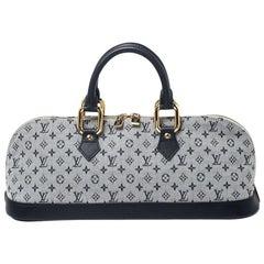 Louis Vuitton Encre Monogram Mini Lin Horizontal Alma Bag