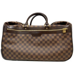 Louis Vuitton Eole 50 Damier Ebene Leather Canvas Luggage