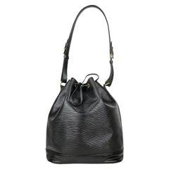 Louis Vuitton Epi Black Noé GM Shoulder Bag
