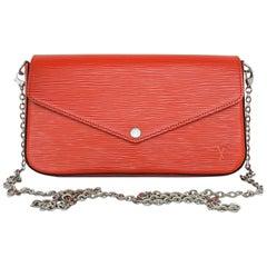Louis Vuitton EPI Felicie Pochette Shoulder Bag