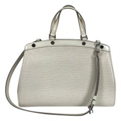 Louis Vuitton Epi Leather Brea Shoulder Bag mm Ivory