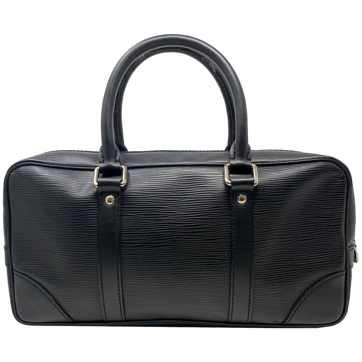 Louis Vuitton Epi Leather Vivienne Black Handbag