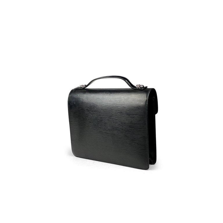 Louis Vuitton EPI Monceau 28 In Good Condition For Sale In Sundbyberg, SE