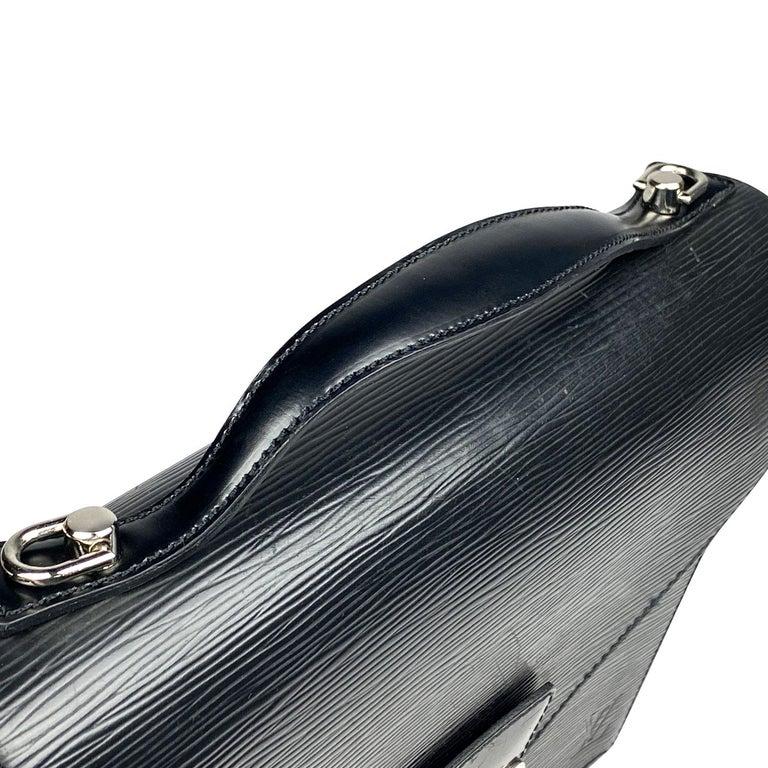 Louis Vuitton EPI Monceau 28 For Sale 2