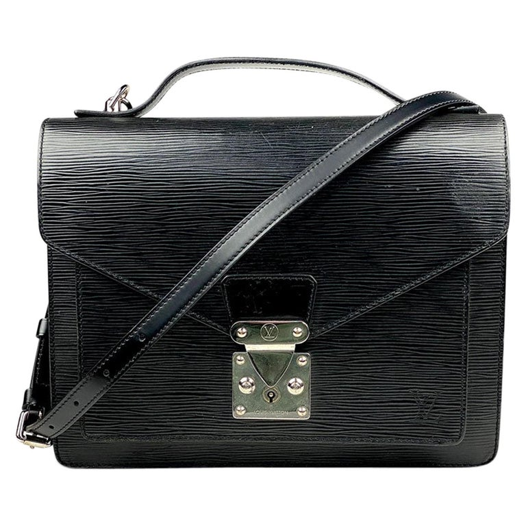 Louis Vuitton EPI Monceau 28 For Sale