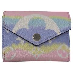 Louis Vuitton Escale Pink Zoe Wallet