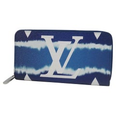 LOUIS VUITTON Escale Zippy Wallet unisex long wallet M68841 blue