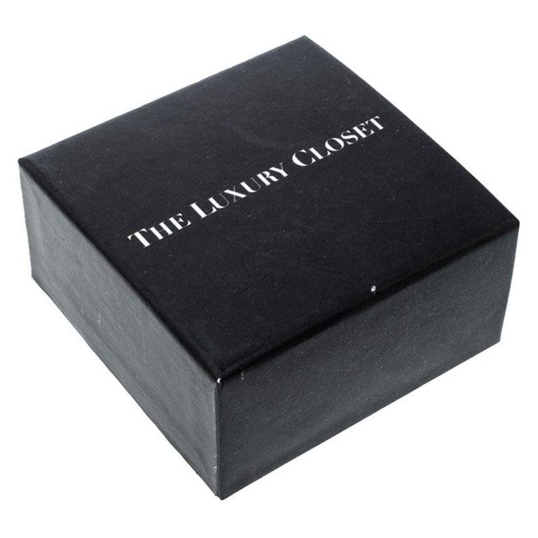Louis Vuitton Essential V Gold Tone Bracelet 3