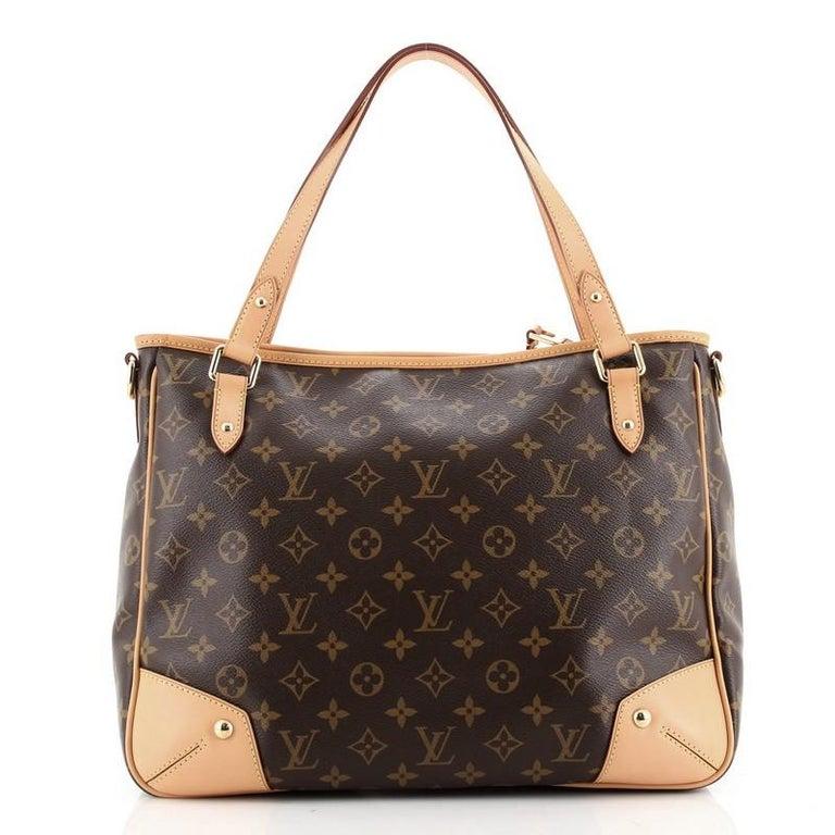 Black Louis Vuitton Estrela Handbag Monogram Canvas MM For Sale
