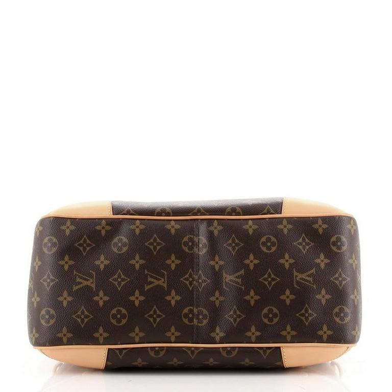 Louis Vuitton Estrela Handbag Monogram Canvas MM In Good Condition For Sale In New York, NY