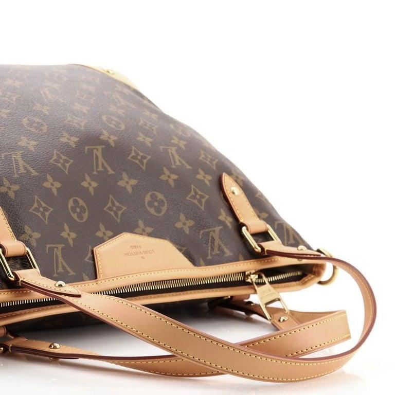 Louis Vuitton Estrela Handbag Monogram Canvas MM For Sale 2