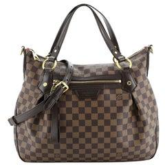 Louis Vuitton Evora Handbag Damier MM