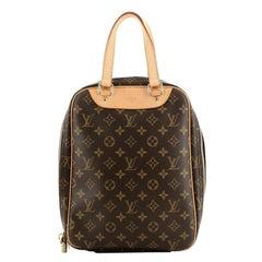 Louis Vuitton Excursion Handbag Monogram Canvas