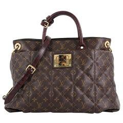 Louis Vuitton Exotique Handbag Monogram Etoile GM