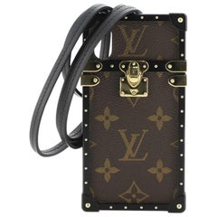 Louis Vuitton Eye Trunk with Strap for iPhone X Monogram Canvas