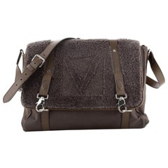 Louis Vuitton Falp Messenger Bag Shearling with Leather