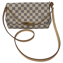 Louis Vuitton Favorite Damier Azure