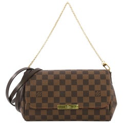 Louis Vuitton Favorite Handbag Damier MM
