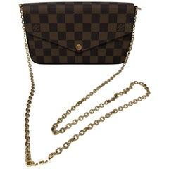 Louis Vuitton Felicie Damier Ebene Bag