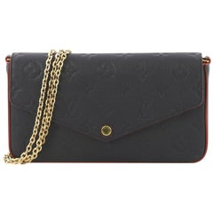 Louis Vuitton Felicie Pochette Monogram Empreinte Leather