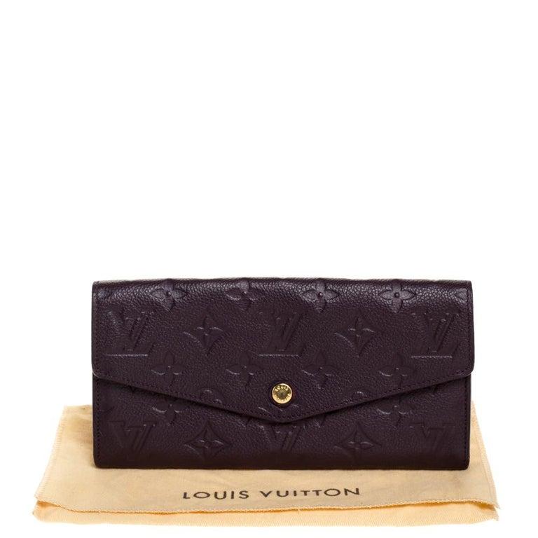 Louis Vuitton Flamme Monogram Empreinte Curieuse Wallet For Sale 6