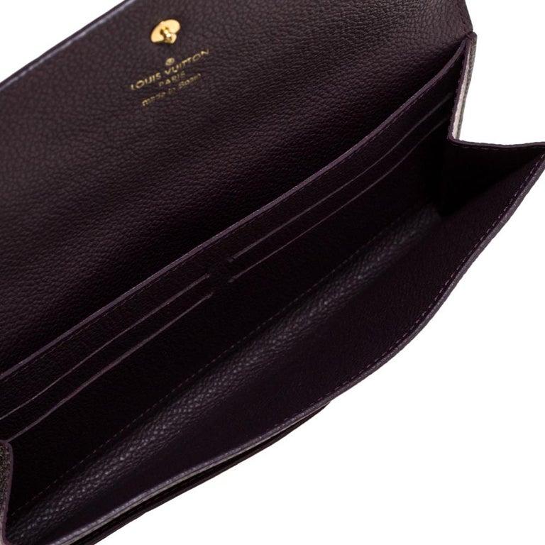 Louis Vuitton Flamme Monogram Empreinte Curieuse Wallet For Sale 2