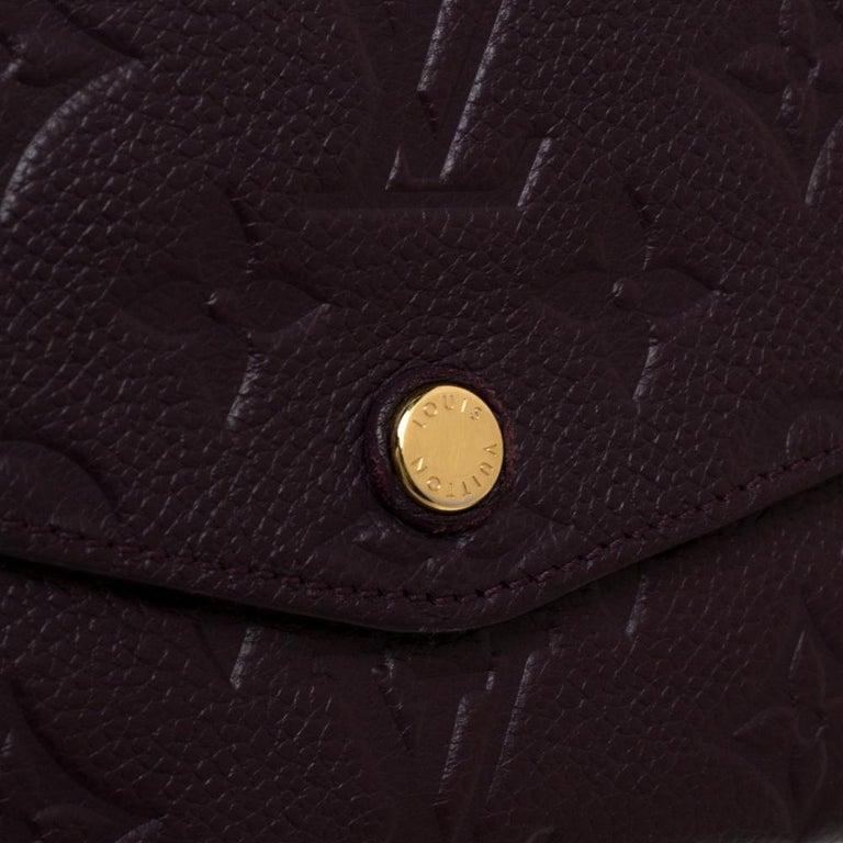 Louis Vuitton Flamme Monogram Empreinte Curieuse Wallet For Sale 4