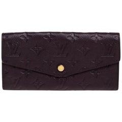 Louis Vuitton Flamme Monogram Empreinte Curieuse Wallet