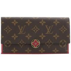 Louis Vuitton Flore Wallet Monogram Canvas