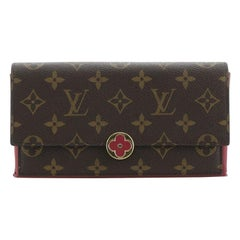 Louis Vuitton Flore Wallet Monogram Canvas