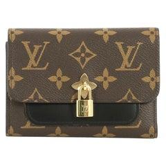 Louis Vuitton Flower Compact Wallet Monogram Canvas