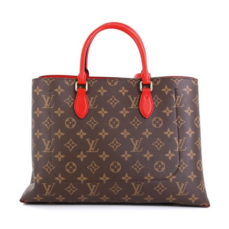 Louis Vuitton Flower Tote Monogram Canvas In Good Condition For Sale In New York, NY