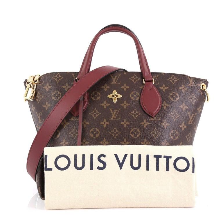 4592d85b Louis Vuitton Flower Zipped Tote Monogram Canvas MM